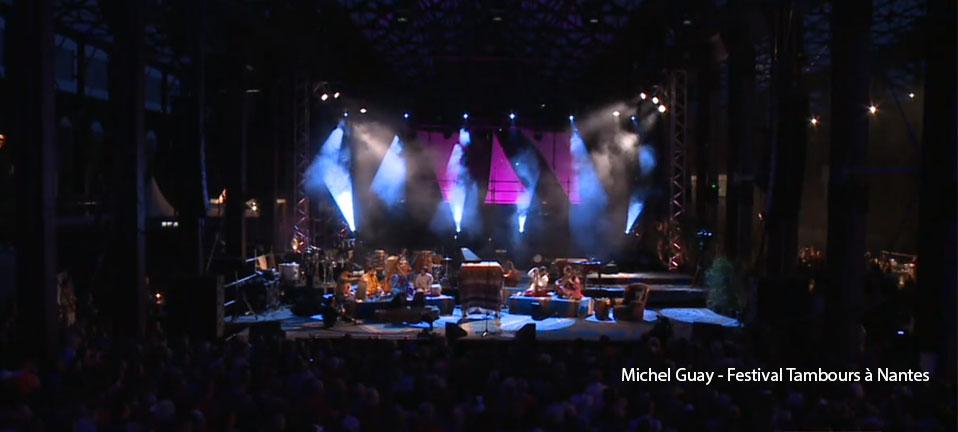 Michel Guay – Festival Tambours à Nantes