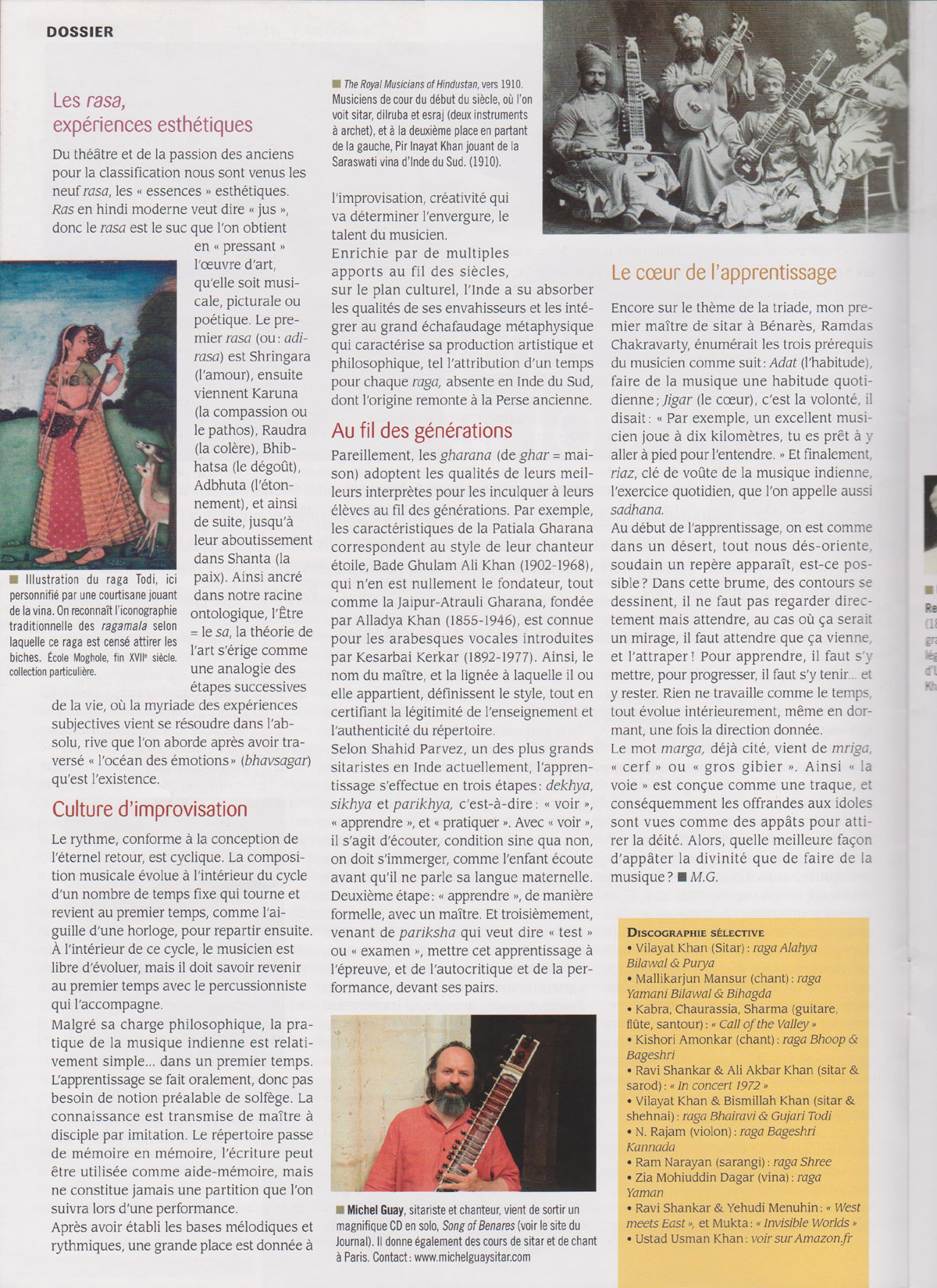 Article journal du yoga page 2